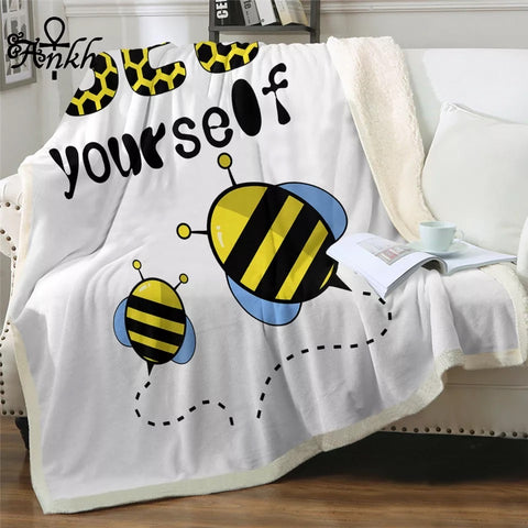 Bee Yourself By Taemin Ankh Throw Rug