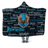 Ravenclaw Traits Hooded Blanket