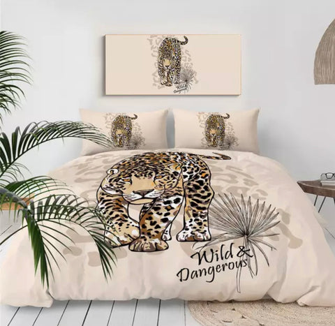 Wild & Dangerous Bedding Set