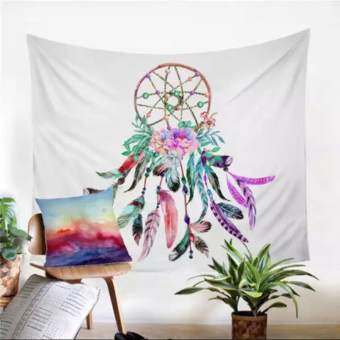 Large Dreamcatcher Wall Tapestry