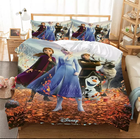 Starting a Frozen Adventure Bedding Set