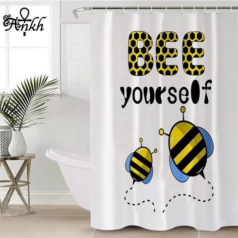 Bee Yourself By Taemin Ankh Shower Curtain