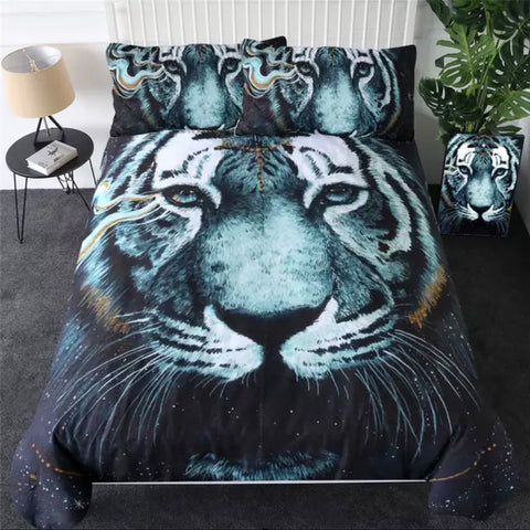 In The Darkness Tiger By Scandy Girl Bedding Set