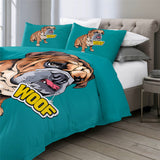WOOF Bulldog Bedding Set