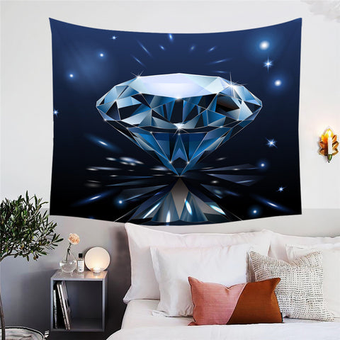 Diamonds Are A Girls Best Friend Wall Tapestry