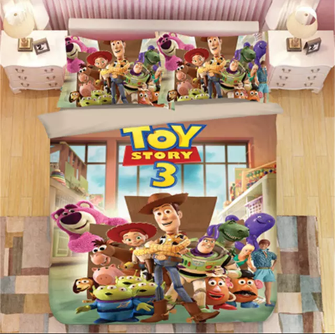 Toy Story 3 Characters Bedding Set