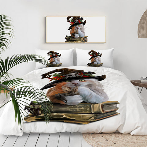 Witches Cat Bedding Set