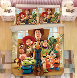 Toy Story In Childcare Bedding Set