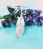 Large Feather Ring