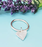 Forever Heart Dangle Ring
