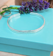 Ashes into Silver Memory Cuff