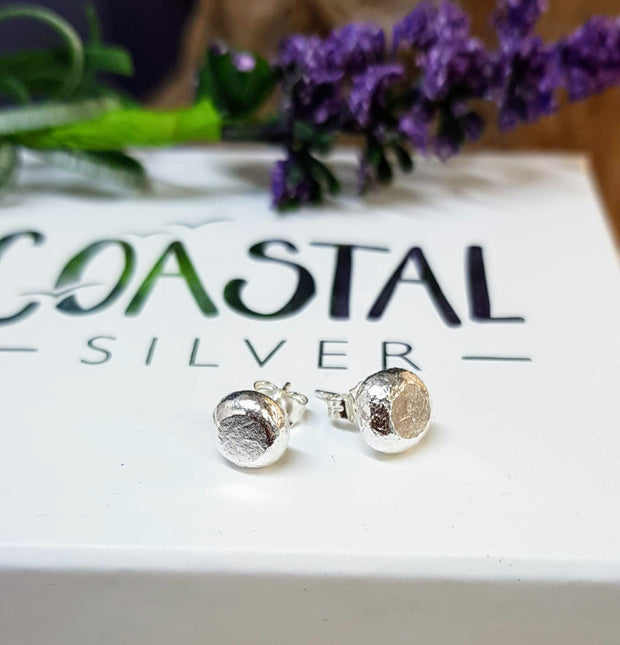 Small Pebble Stud Earrings *can be personlised