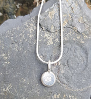 Personalised Small Pebble Necklace ( Can be personalised )