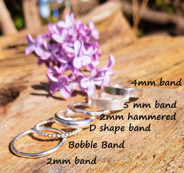 Breast Milk Memory Rings