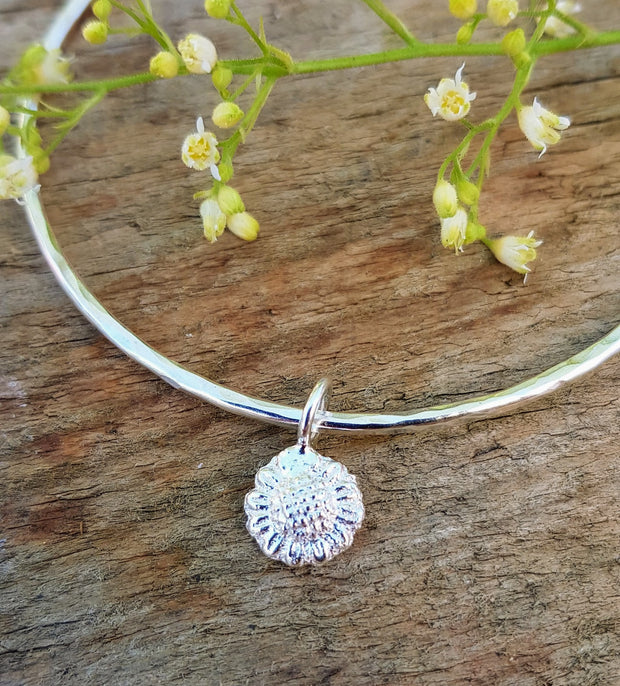Little Sunflower Charm Bangle