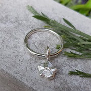 Forget me Knot Dangle Ring