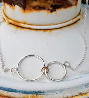 Loved for Infinity Family Necklace
