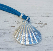Tideline Treasure Large & Lush Seashell Pendant