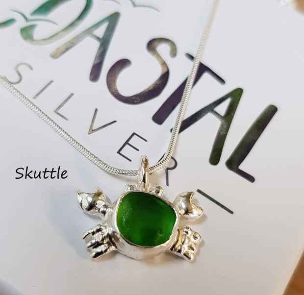 Skuttle The Sea Glass Crab