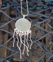 Jeff The Jelly Fish Sea Glass Seahorse