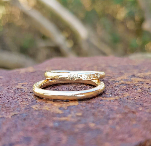 Gold 9ct Stacker Ring