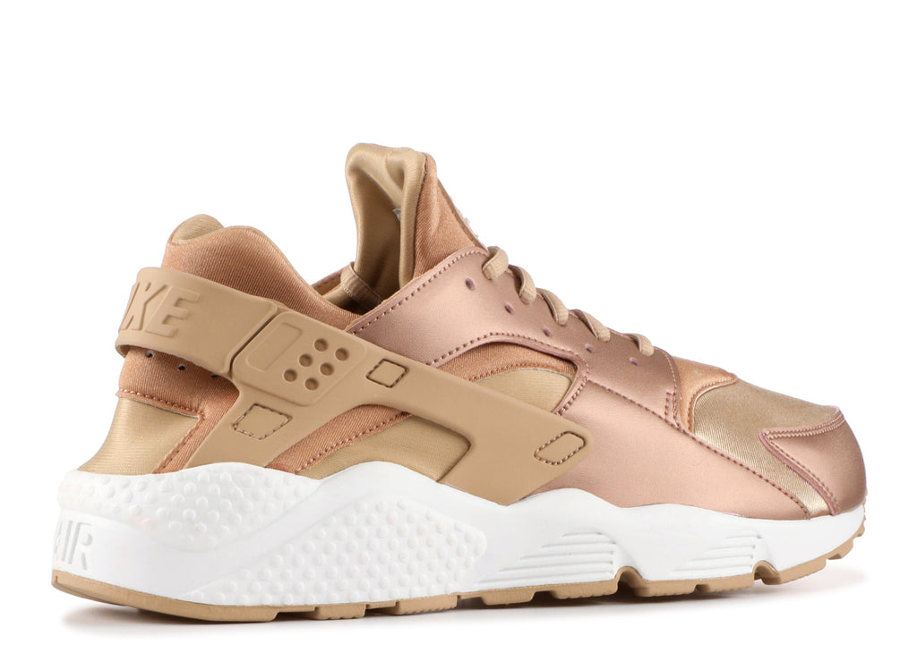 nike air huarache run rose gold