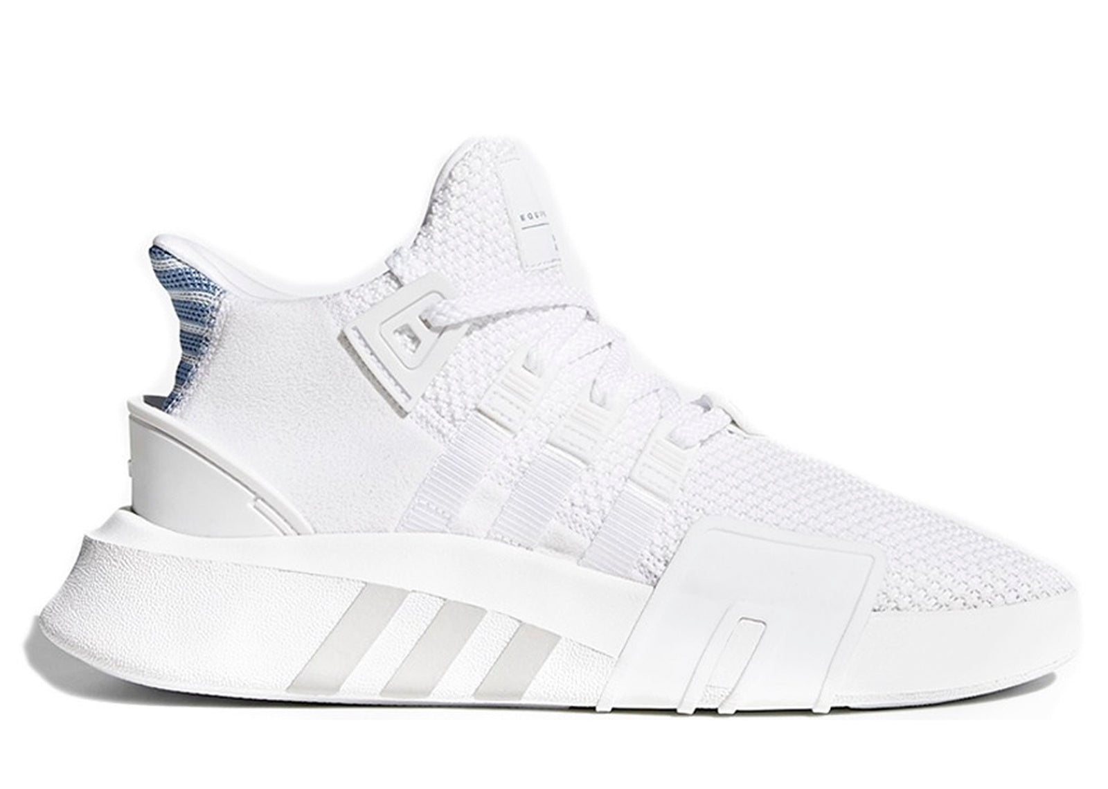 premium selection 7396c 89811 ADIDAS EQT BASKETBALL ADV RUNNING WHITE ASH BLUE