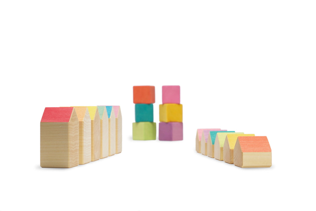 OCAMORA - HOUSES & CUBES 18PC