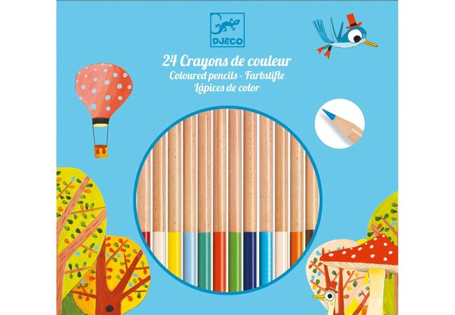 COLOURING PENCILS 24PK