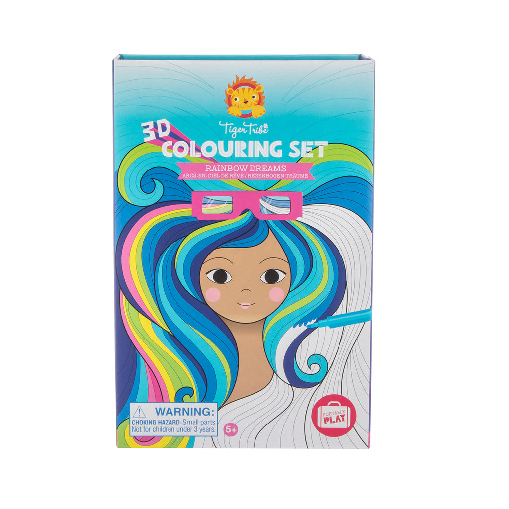 3D COLOURING SET - RAINBOW DREAMS