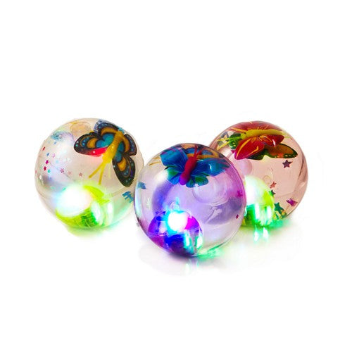 LED LIGHT UP BALL BUTTERFLY