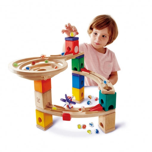 QUADRILLA MARBLE RUN RACE TO THE FINISH HAPE