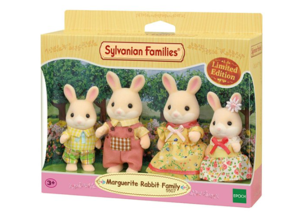 SYLVANIAN MARGUERITE RABBIT FAMILY