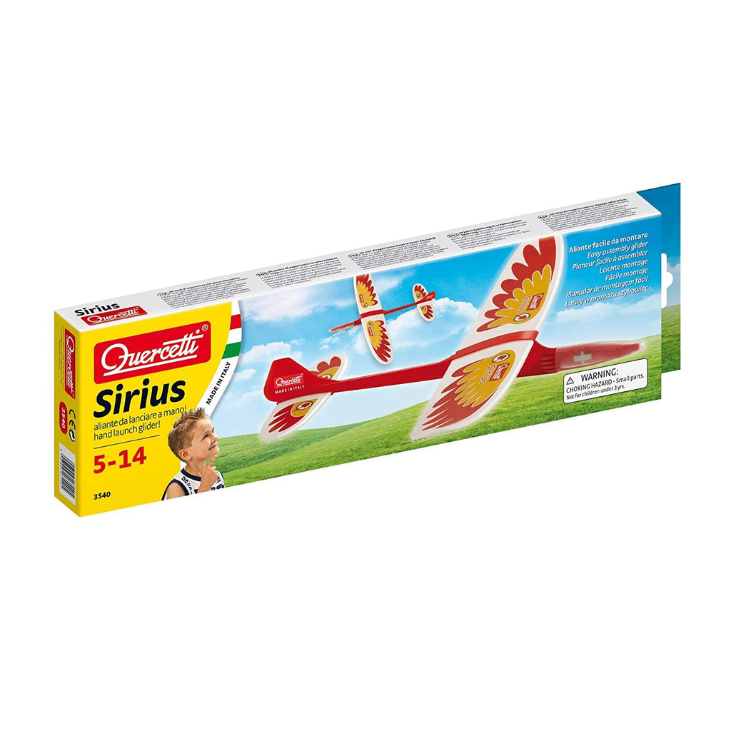 SIRIUS HAND LAUNCH GLIDER