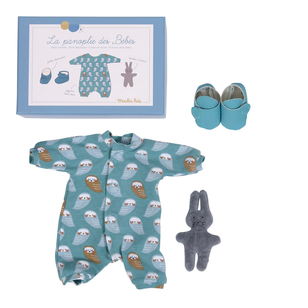 LES BEBES CLOTHING SET