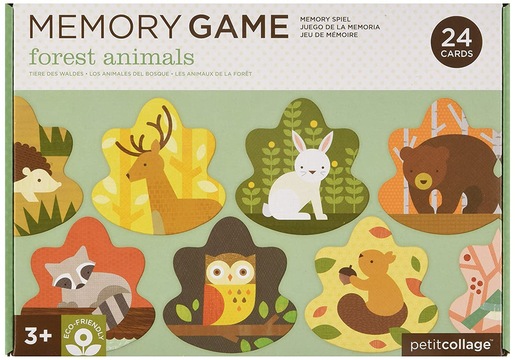 PETIT COLLAGE - FOREST ANIMALS MEMORY CARD