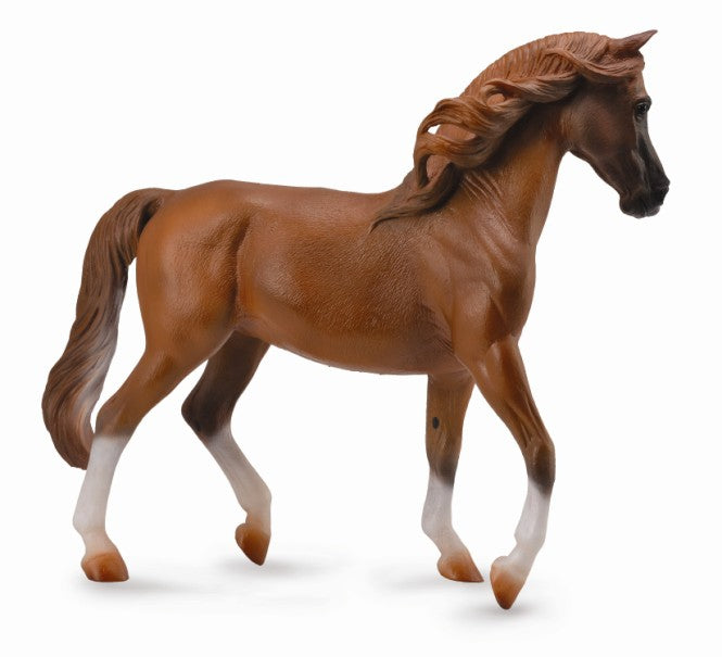 COLLECTA ARABIAN STALLION CHESNUT 1:12