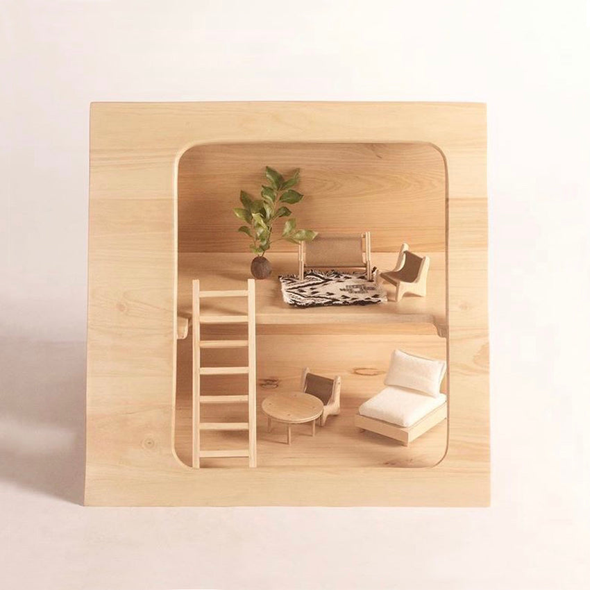 A-FRAME DOLLS HOUSE FURNITURE SET such great heights