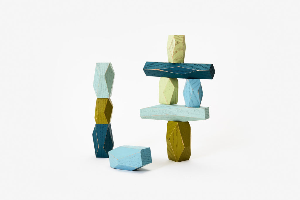 Balancing Blocks Ocean Areaware