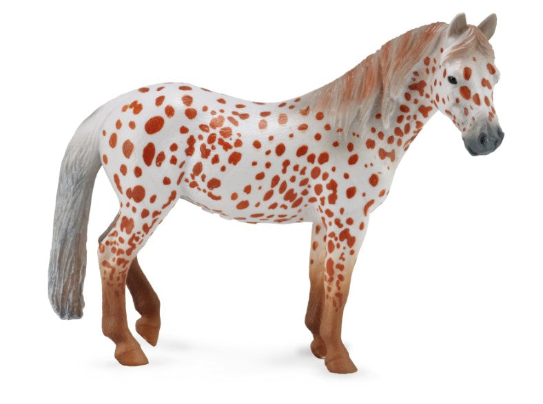 COLLECTA BRITISH SPOTTED PONY MARE CHESTNUT