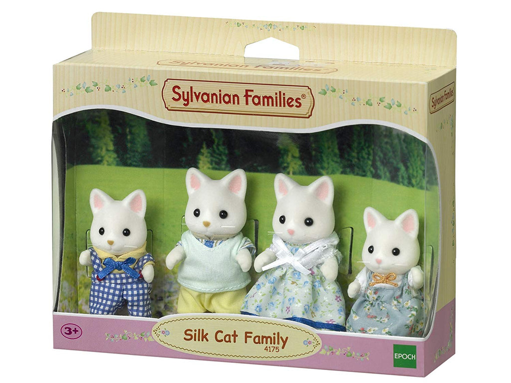 SYLVANIAN SILK CAT FAMILY