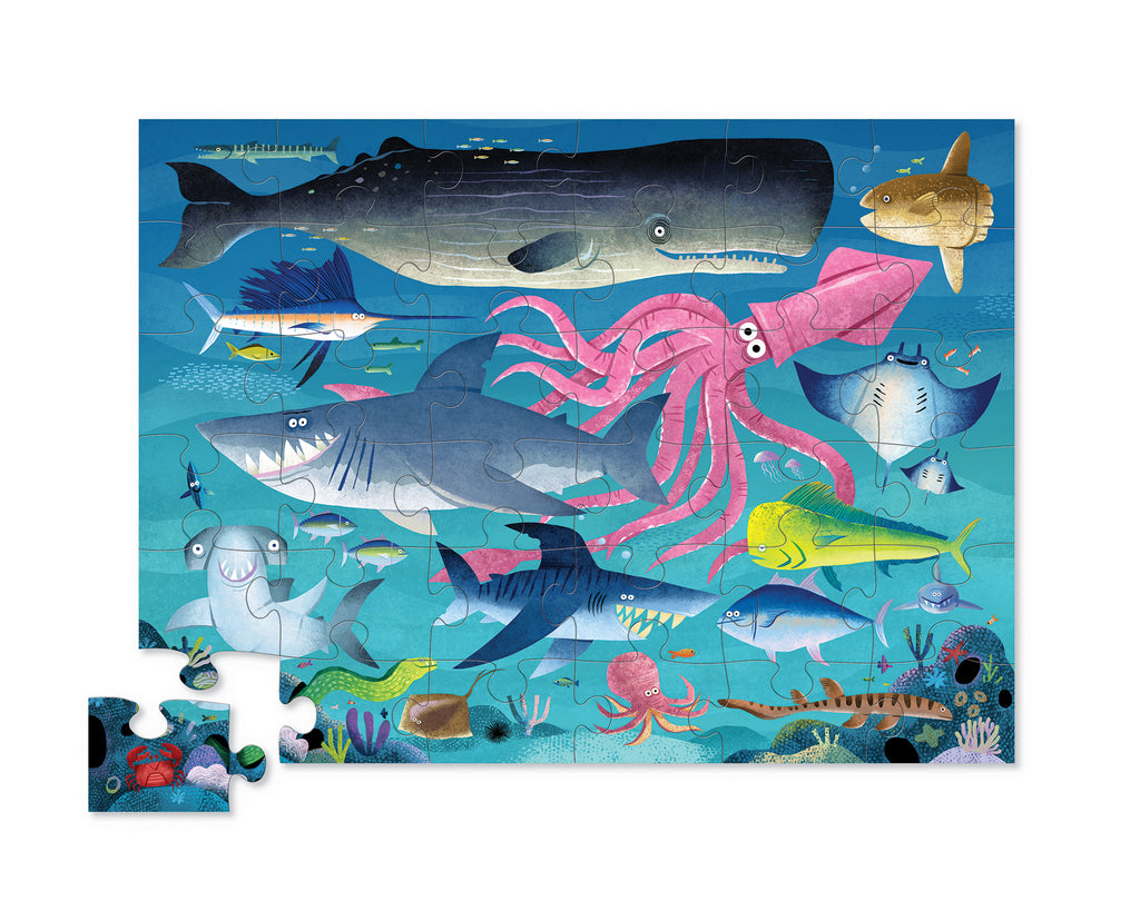 FLOOR PUZZLE 36PC - SHARK REEF