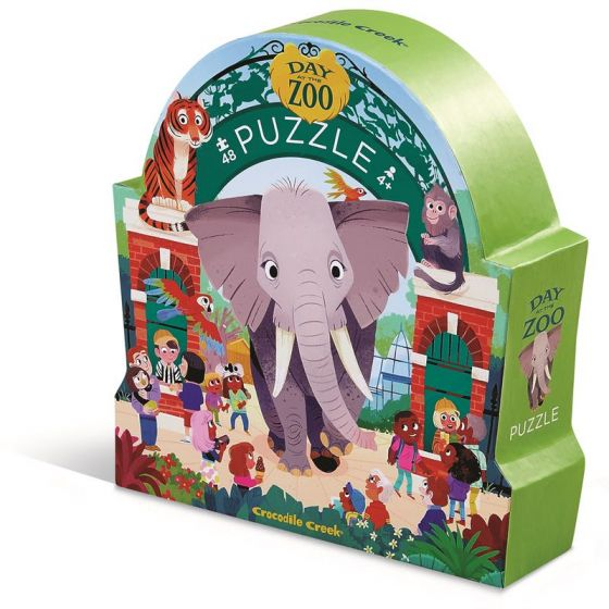 DAY AT THE ZOO 48PC PUZZLE