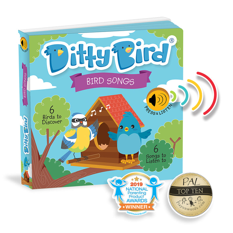 DITTY BIRD BOOK - BIRD SONGS