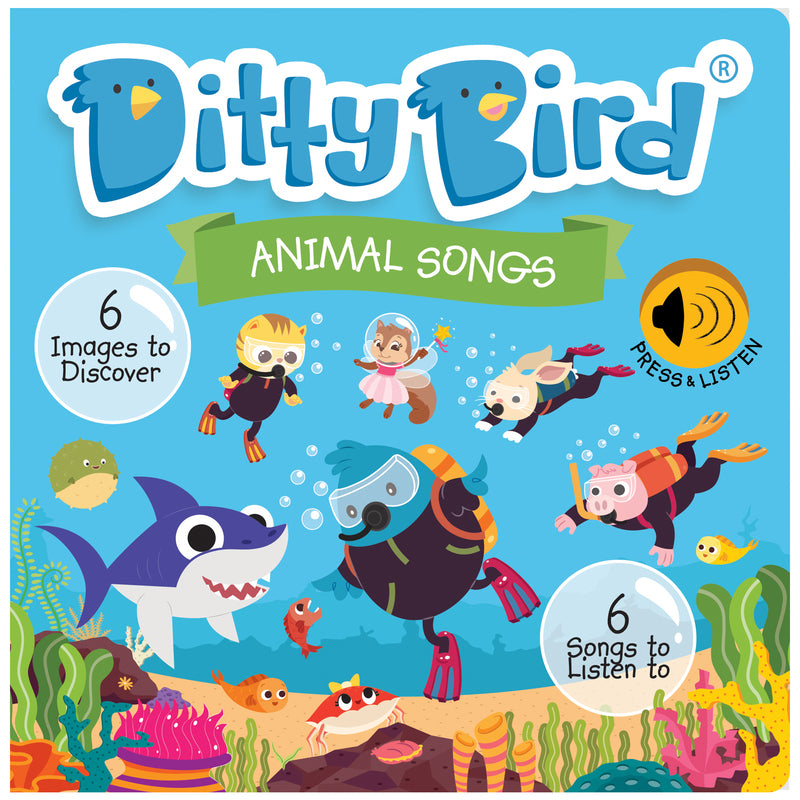 DITTY BIRD BOOK - ANIMAL SONGS