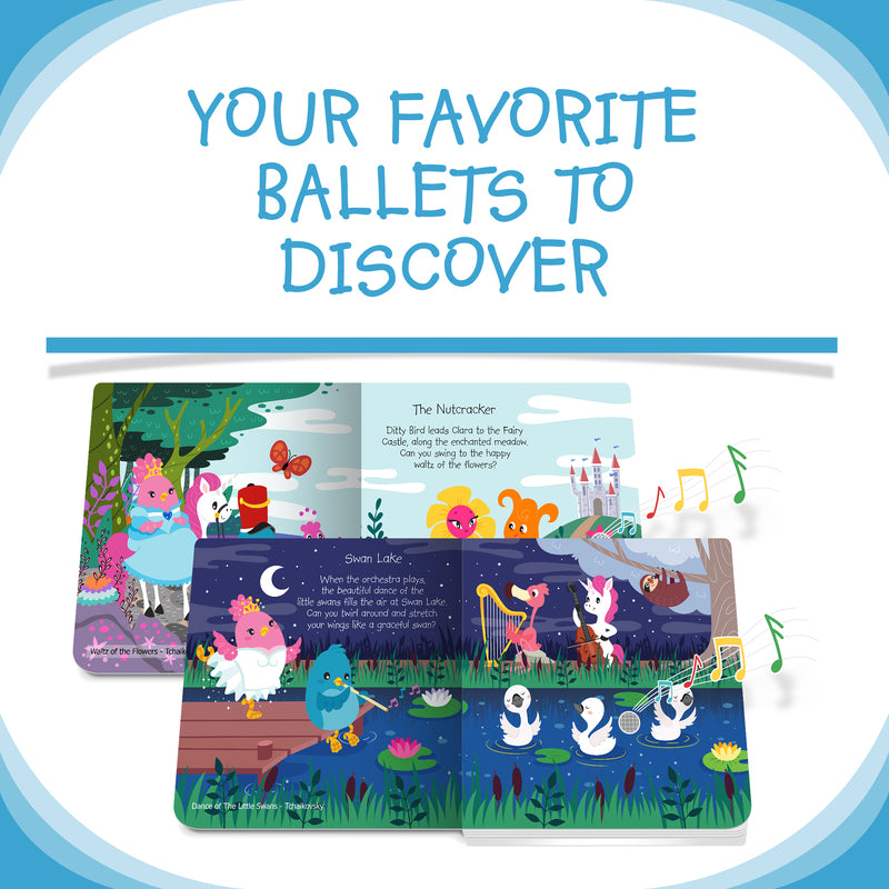 DITTY BIRD BOOK -CLASSICAL BALLET MUSIC