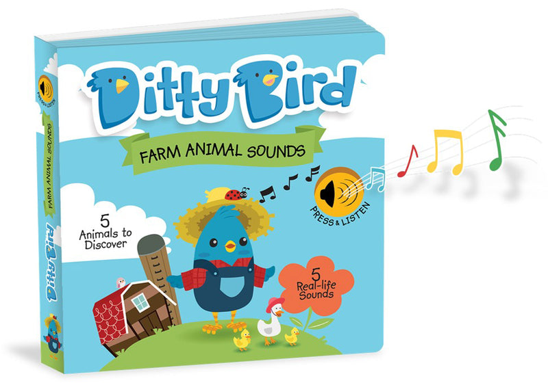 DITTY BIRD BOOK - FARM ANIMAL SOUNDS