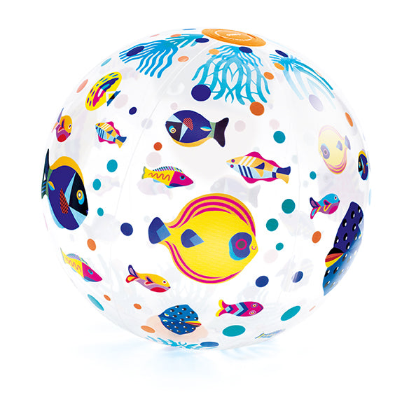 INFLATABLE BALL 35CM - FISH