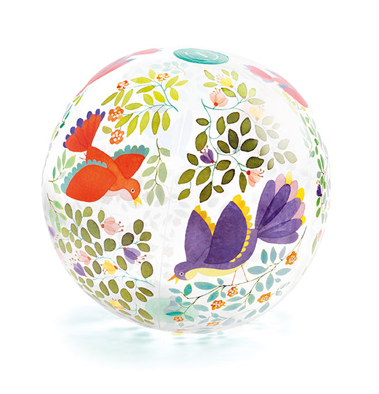 INFLATABLE BALL 35CM - BIRDS