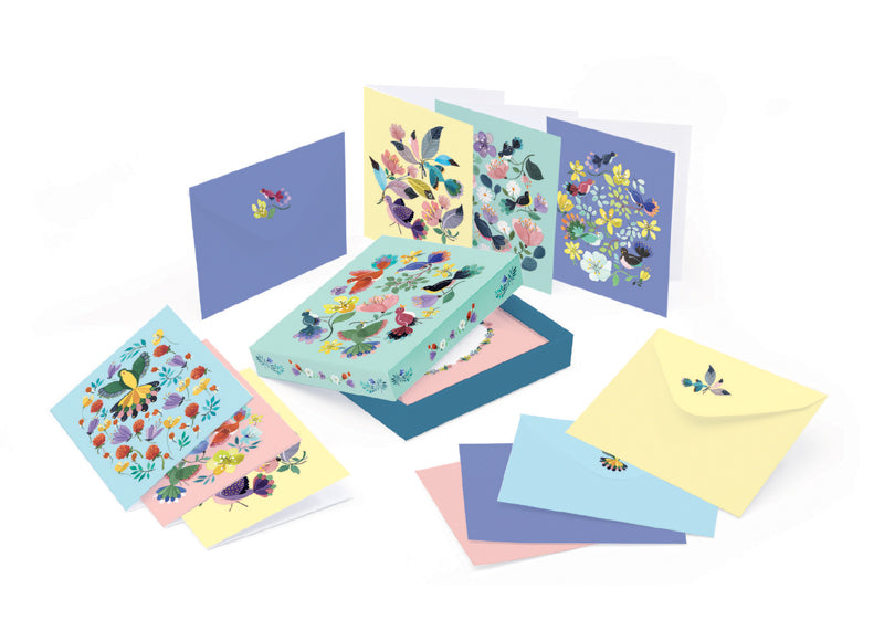 WRITING SET ANNA EMILIA - 10 CARDS  & ENVELOPES